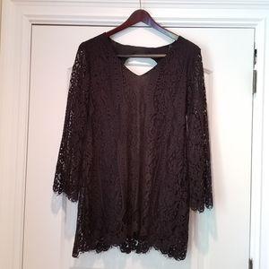 💋 Sexy Lacy Little Black Dress